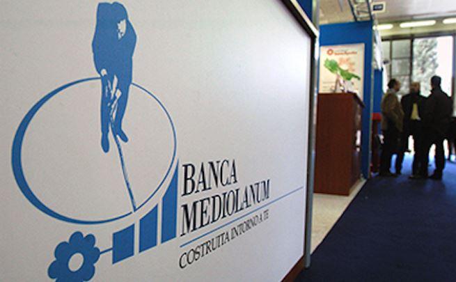 Banca Mediolanum dividendo da 0,16 e trend positivo